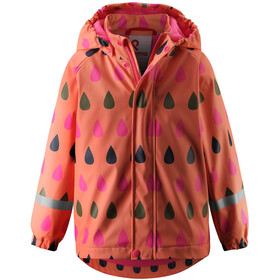 Reima Koski Imperméable Enfant, bright salmon